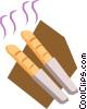 Vector Clip Art graphic  of a Loaf of bread