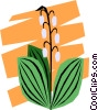 Houseplants Vector Clipart image