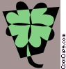 Vector Clipart graphic  of a Leaf