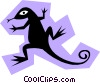 Salamander Vector Clipart illustration