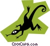 Salamander Vector Clipart picture
