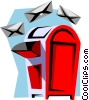 Vector Clip Art picture  of a Mailbox