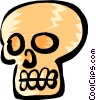 Skull Vector Clipart picture