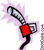 Vector Clipart picture  of a Gas nozzle