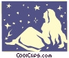 Vector Clipart graphic  of a Sign of the zodiac - Virgo