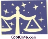 Sign of the zodiac - Libra Vector Clip Art graphic