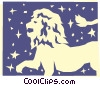 Sign of the zodiac - Leo Vector Clipart picture