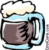 Vector Clipart picture  of a Beer