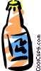 Vector Clip Art image  of a Liquor