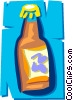 Vector Clipart illustration  of a Liquor