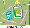 Vector Clip Art picture  of a Liquor
