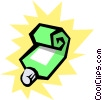 Vector Clip Art picture  of a Toothpaste