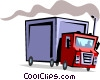 Vector Clipart image  of a Truck