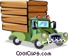 Truck Vector Clipart picture