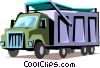Vector Clipart graphic  of a Delivery truck