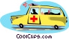 Ambulances Vector Clipart illustration