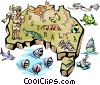 Australia Vector Clipart graphic