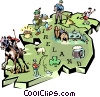 Ireland Vector Clip Art picture