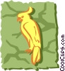 Vector Clip Art graphic  of a Parrot