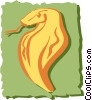 Vector Clip Art graphic  of a Snake