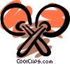 Vector Clip Art picture  of a Maracas