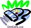 Vector Clip Art graphic  of a Scanner