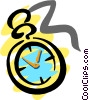 Vector Clip Art picture  of a Time