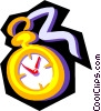 Vector Clipart image  of a Time