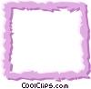 Vector Clip Art image  of a Border