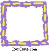 Vector Clip Art graphic  of a Border