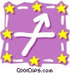 Vector Clip Art image  of a Sign of the zodiac -