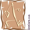 People petroglyphs Vector Clip Art picture