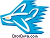 Vector Clip Art graphic  of a Planes
