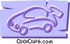 Vector Clipart graphic  of a Cars