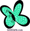Vector Clip Art picture  of a Butterflies
