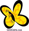 Vector Clipart image  of a Butterflies