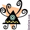 Vector Clip Art image  of an Aliens