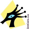 Vector Clip Art picture  of an Aliens