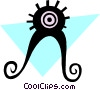 Vector Clipart image  of an Aliens