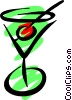 Martini Vector Clip Art graphic