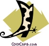 Vector Clipart graphic  of a Cowboy boot
