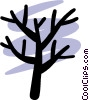 Vector Clipart illustration  of a Trees