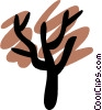 Trees Vector Clip Art graphic