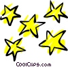 Vector Clip Art graphic  of a Stars