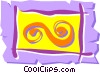 Wigglies and squiggles Vector Clipart illustration