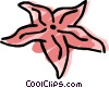 Starfish Vector Clipart picture