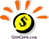 Money Vector Clipart graphic
