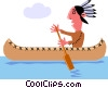Indians Vector Clip Art graphic