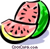 Watermelon Vector Clipart picture