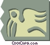 woodcuts Vector Clipart illustration